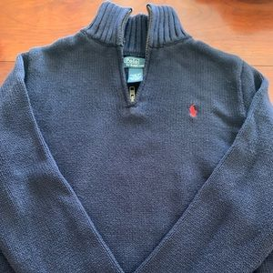 Boys Ralph Lauren 1/4 Zip Sweater
